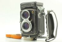 [NEAR MINT w/ GRIP] Yashica Yashica-C TLR Camera Yashikor 80mm F/3.5 Lens JAPAN