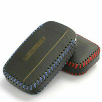 Geniune Leather Remote Smart Key Fob Case Holder Cover For Land Rover