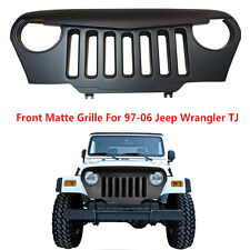 Angry Bird Front Matte Grill Grille Black for 97-06 Jeep Wrangler TJ Unlimited