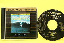 "The Beach Boys ""Surfin 'Usa"" 24k oro, master originale Record., MFSL, cd come nuovo!"