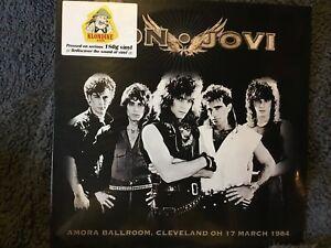 BON JOVI Amora Ballroom Cleveland OH 1984  180 gram KLONDIKE 2015  sealed