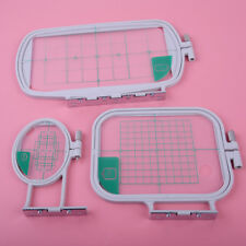 3pcs/Set S&M&L Embroidery Hoops Replaces for Brother SE350 SE400 PE500 Machine