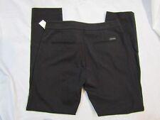 WHITE HOUSE BLACK MARKET Womans Black Slim Chino Crop Pants - Size 4 NWT