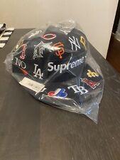 Supreme Mlb New Era Hat Navy 7 3/8 SS20 DS