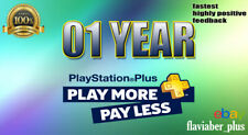 For PS Plus - 12 months - PSN PlayStation Plus - Compatible with PS4 - no code