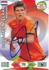 Klaas Jan Huntelaar  Holland  Panini Card Road to WM 2014  signiert 400188
