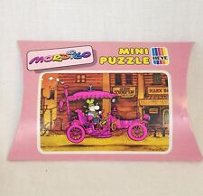 Heye Mordillo/Verlag 48 Piece Mini Puzzle Pink Car In Western Town