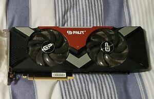Palit GamingPro OC Nvidia RTX 2080 8GB GDDR6 Graphics Card