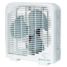 Comfort Zone  9 in. 2 speed Electric  Box Fan