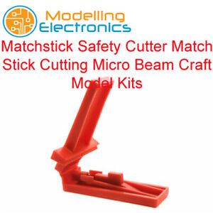 Matchstick Safety Cutter Match Stick Cutting Micro Beam Craft Model Kits