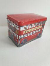 Churchills Double Decker Bus Empty Confectionary Tin