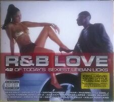 VARIOUS ARTISTS - R&B LOVE, Double Audio CD Album