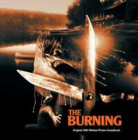The Burning - Original Score - Black Vinyl - Limited 200 - Rick Wakeman