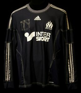 OLYMPIQUE MARSEILLE SHIRT JERSEY ADIDAS FORMOTION SOCCER PLAYER ISSUE FOOTBALL 8