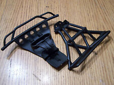 Traxxas 1/10 SLASH 4X4 Front & Rear Bumpers with Mounts 4wd Black 6835 6836