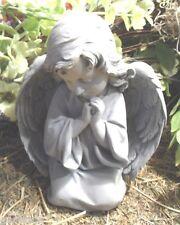 latex w plastic backup elegant praying angel mold concrete plaster mould