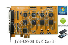 16 Channel DVR Registratore CCTV sicurezza della carta, PCI-e Win 7 e 8 32 & 64 bit, Cloud p2p