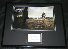 Stanley Tucci Lovely Bones Signed Framed 11x14 Photo Display
