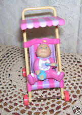CPK Stroller and Cabbage Patch Kids Baby Figure