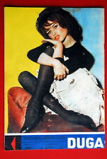 BRIGITTE BARDOT LEGGY BACK COVER 1960 RARE EXYU MAGAZINE