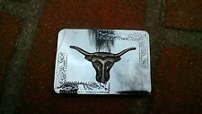 Belt Buckle w/ Bronze Colored  - Made in Hong Kong
