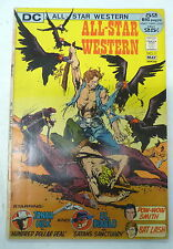 all star western comics 11 dc comics 1972 1th jonah hex cover