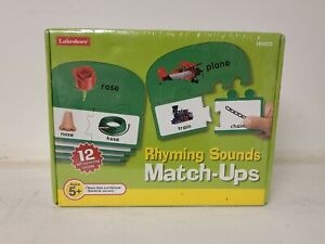 Rhyming Sounds Match Ups Educational Game By Lakeshore Learning Sealed