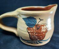Eldreth Pottery Autumn Redware 2000 Signed Creamer Pitcher