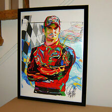 Jeff Gordon Nascar Stock Car Racing Poster Print Wall Art 18x24