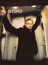 Sting Brand New Day T- Shirt ( M ) 2000 Concert Tour