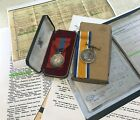 Imperial Service Medal with case British War Medal STEER HM Dockyards PLYMOUTH