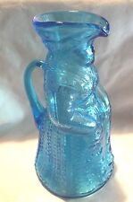 VINTAGE GLASS / BLUE / FIGURALS / SYRUP PITCHERS / CREAMERS / PILGRIMS / WOMAN