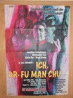 Ich, Dr. Fu Man Chu Christopher Lee Karin Dor Filmplakat 60x80cm gefaltet