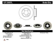 StopTech Rear Left Disc Brake Rotor for 98-16 Volkswagen Golf / Audi A3 / Seat