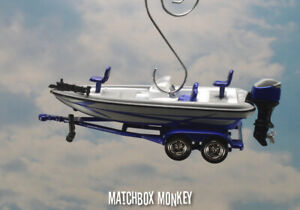 Bass Fishing Boat Custom Christmas Ornament Nitro Ranger Tracker Lund America