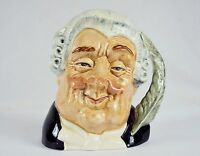 ROYAL DOULTON TOBY Jug Small 4 The Lawyer Numbered 5 D6504 Artist Max Henk 1959-1996