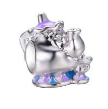 S925 disney beauty and the beast teapot European charm bead. Pandora's Vault inc