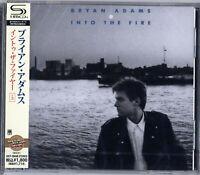 BRYAN ADAMS-INTO THE FIRE +3-JAPAN SHM-CD BONUS TRACK D50