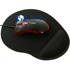 New Black Thin Wrist Comfort Mouse Rest Soft Comfort Mousepad Mice Mat Pad