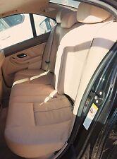 BMW Rear Seat Set E39 Beige Leather OEM