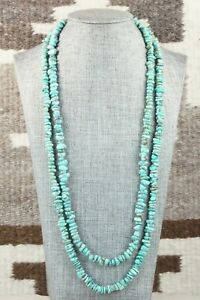 Turquoise & Sterling Silver Necklace - Doreen Jake