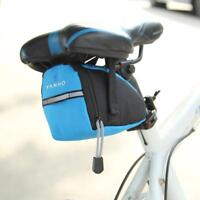 Waterproof Bicycle Saddle Bag MTB Mountain Road Bike Cycling Tail Rear Seat Bag