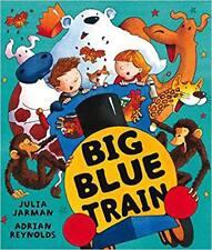 Big Blue Train By Julia Jarman NEW (Paperback) Childrens Book