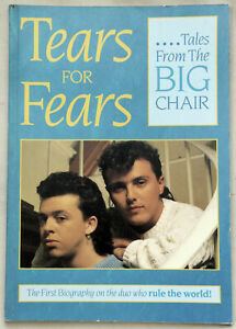 Tears For Fears Tales From The Big Chair Biography Rare 1st Ed. Zomba Will Hall
