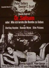 DR. STRANGELOVE German A1 movie poster B STANLEY KUBRICK PETER SELLERS 1964