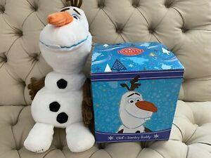 Olaf Scentsy Buddy Disney with Warm Hugs Scent Pak NIB RETIRED 2018