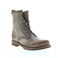 Frye Veronica Combat 70589 Womens Brown Leather Lace Up Casual Dress Boots