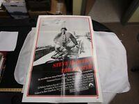 One Sheet Movie Poster The Hunter 1980 Steve McQueen Eli Wallach Kathryn Harrold