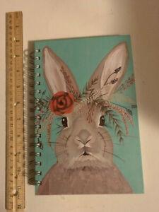 Hallmark NEW Spiral Notebook Adare Rabbit 160 pages