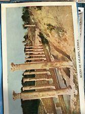 H1e Postcard Unused Undated Cyprus Ruins Of Salamis